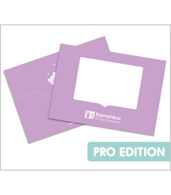 Purple Kamishibai PRO Story Card Folder (BIG A3)