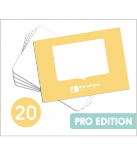 [PROMO] 20 Láminas Kamishibai A3 DIY (hazlo tú mismo)
