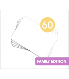 60 DIY Kamishibai Family DIN-A4 blanko Karten (do it yourself)