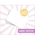 [PROMO] 60 DIY Kamishibai Family A4 Blank Story Cards (Do It Yourself)