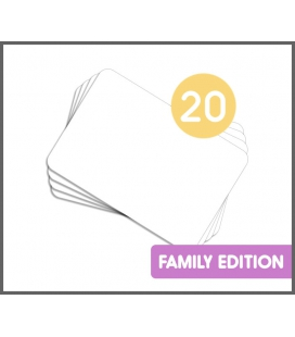 20 DIY Kamishibai Family A4 Blank Story Cards (Do It Yourself)
