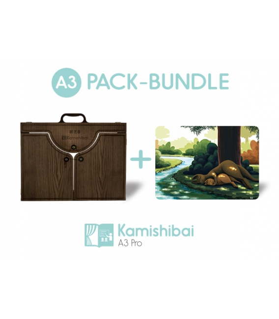 Bundle: Kamishibai PRO Theater + Mother Kangaroo and Her Pouch