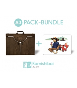 Bundle: Kamishibai PRO Theater + The Sun Cat