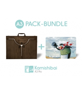 Bundle: Kamishibai Theater PRO EDITION (BIG A3) + Little Fishie