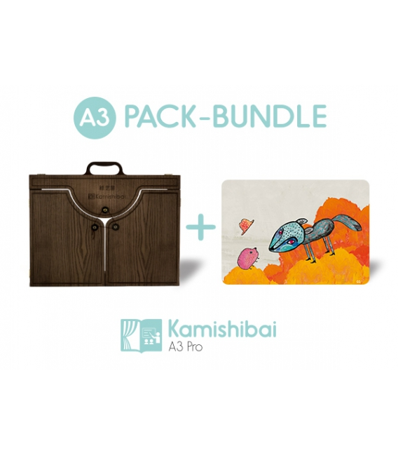 Bundle: Kamishibai PRO Theater + The Jackal and the Hedgehog