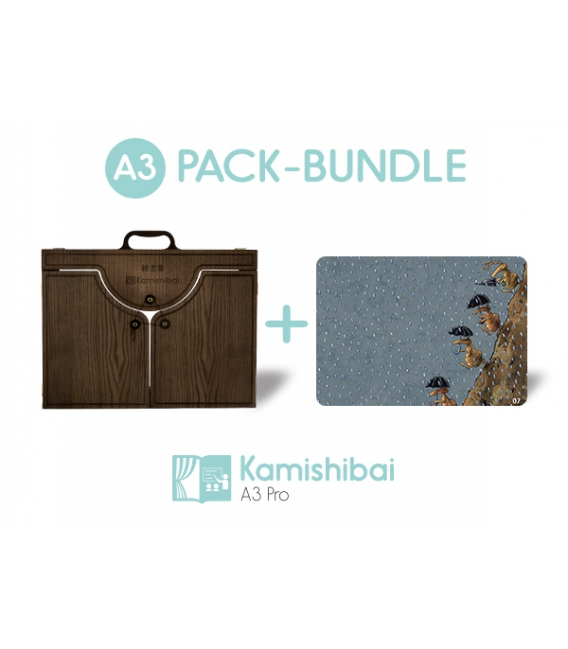 Bundle: Kamishibai Theater PRO EDITION + Why Are There So Many Stones On Riverbends? (PREMIUM)