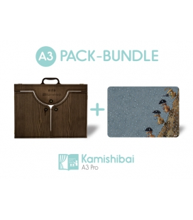 Bundle: Kamishibai PRO Theater (A3) + Why Are There So Many Stones On Riverbends?