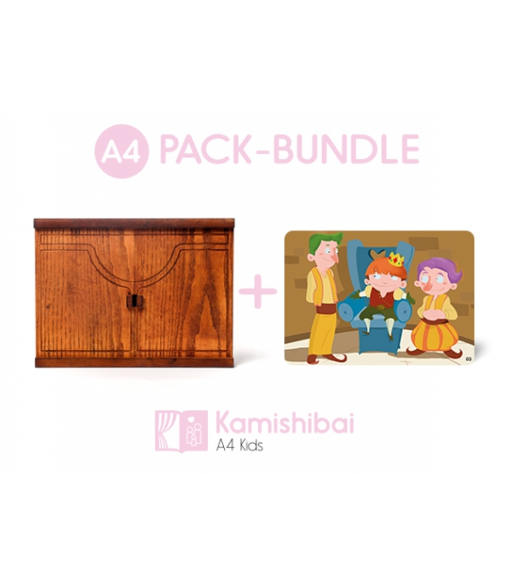 Bundle: Kamishibai Family Theater + The Fearful King