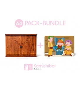 Bundle: Kamishibai KIDS Theater + The Fearful King