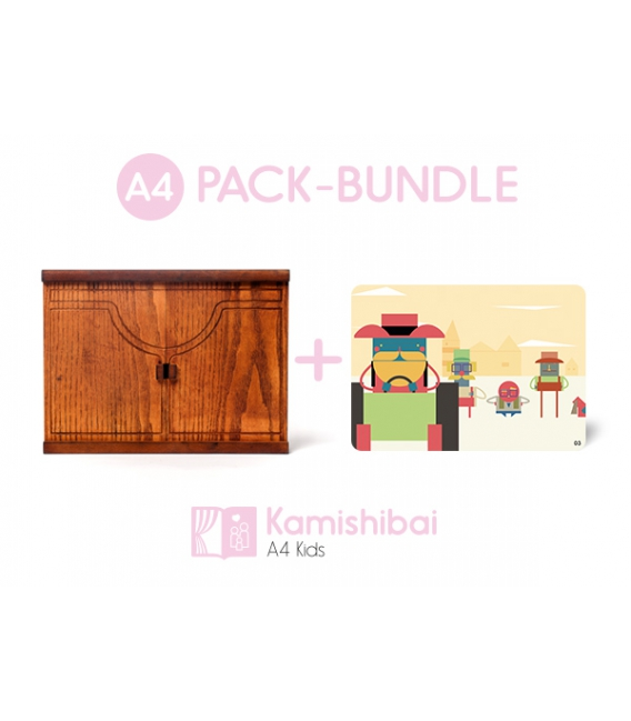 Pack: Kamishibai Erzähltheater Family Edition + The Journey of Alvin