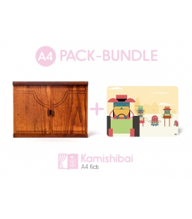 Bundle: Kamishibai KIDS Theater + The Journey of Alvin