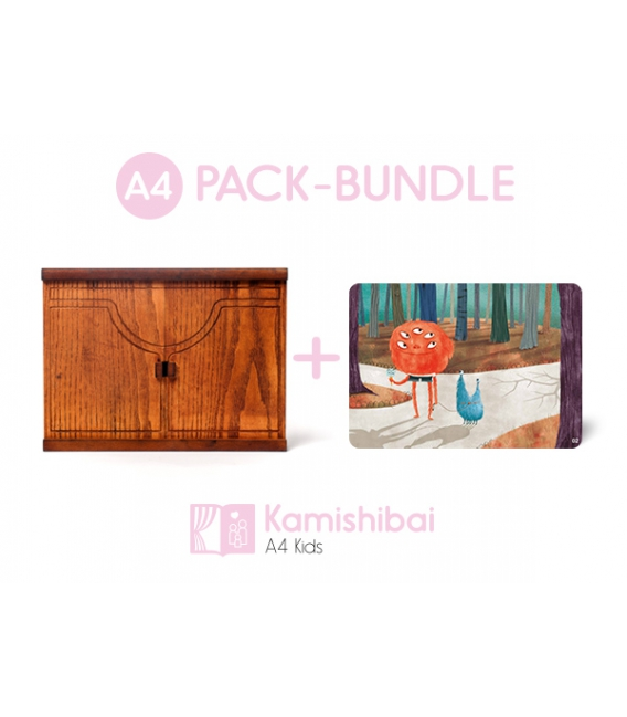 Bundle: Kamishibai Family Theater + The Monster Child