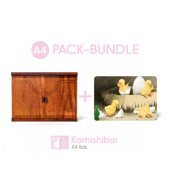 Bundle: Kamishibai Family Theater + The Ugly Duckling