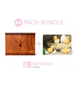 Bundle: Kamishibai KIDS Theater + The Ugly Duckling