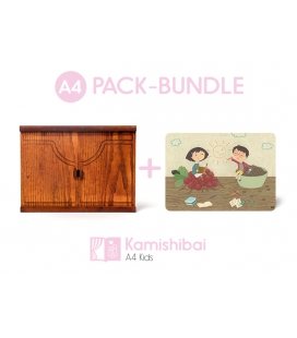Pack Teatro Kamishibai KIDS + Cósimo, Cósima y tres recetas mágicas