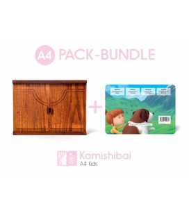 Bundle: Kamishibai KIDS Theater + The Secret of the Mountain