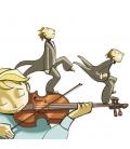 Isaac y el violín desagradecido