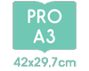 A3 42x29,7 cm